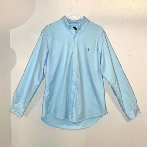 Ralph Lauren Shirts - RALPH LAUREN Men's Blue Button Down